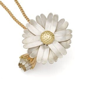 Daisy Locket Gold Open
