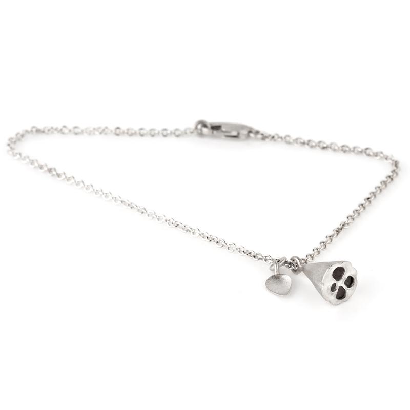 Lotus Pod & Petal Bracelet