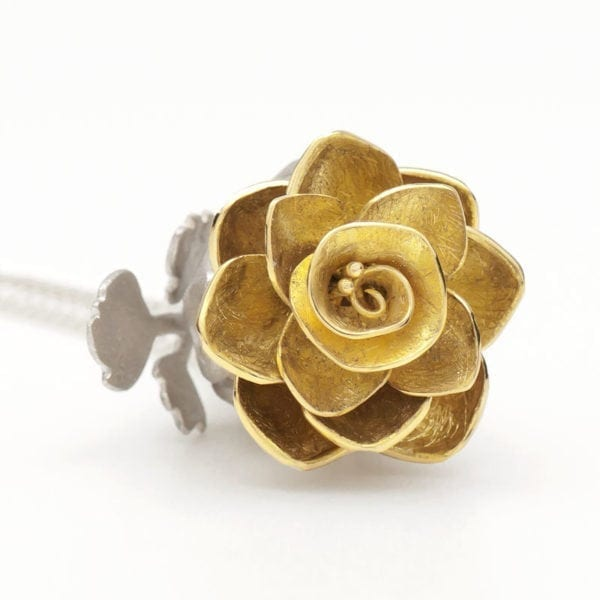 Open Rose locket