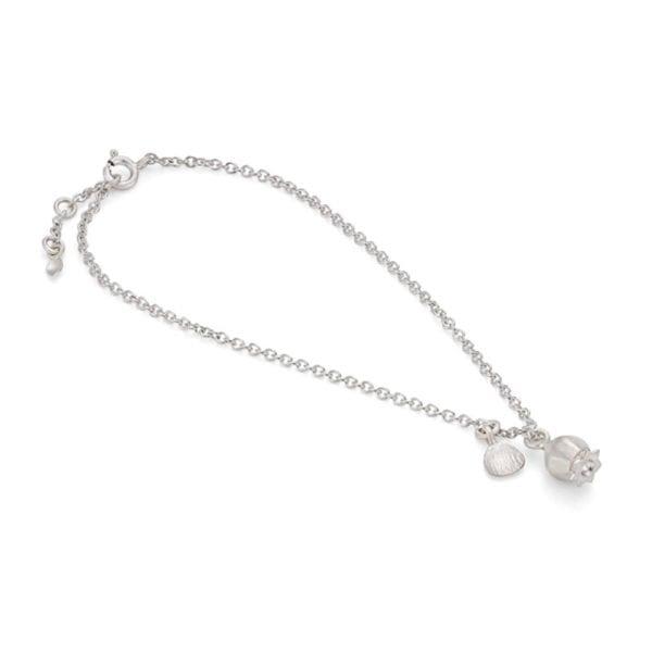 poppy bracelet silver new