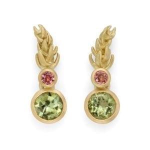 Heather earrings