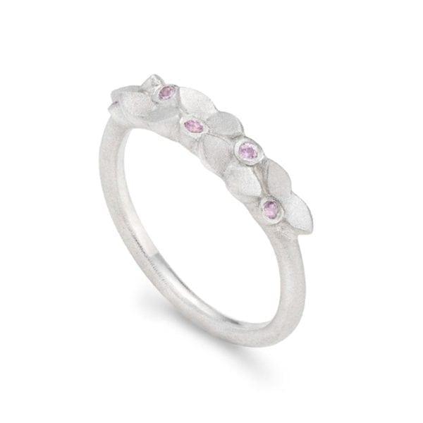 Lotus Garland silver Pink