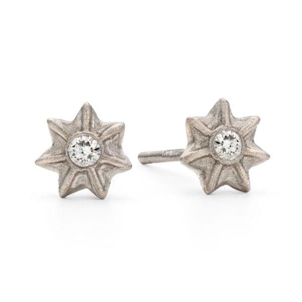 Poppy Star Studs
