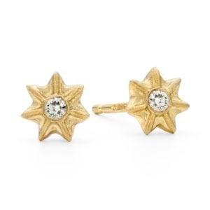 Poppy Star Studs 18 Ydia